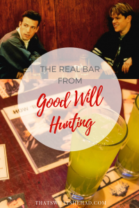 What the real bar from Good Will Hunting looks like in real life! Click on pin to see the pictures and read the story. #Boston #BostonMA #BostonRestaurants