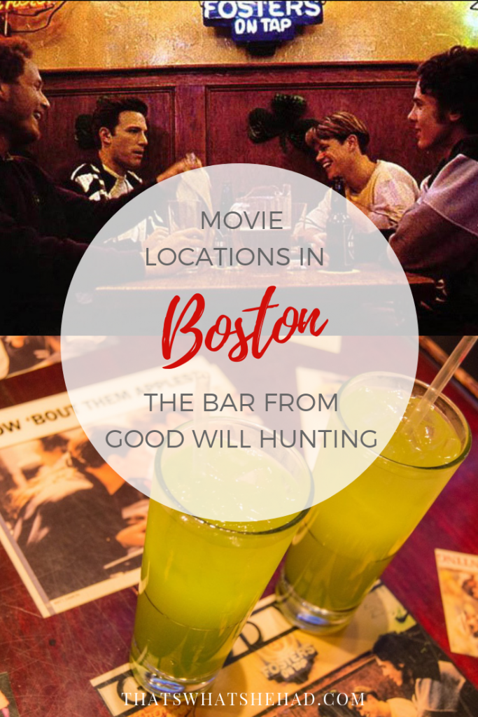 Love visiting filming locations when you travel? Here's one in Boston you can visit today: L Street tavern that was featured in Good Will Hunting! Click on pin to check out how it looks today! #Boston #BostonMA #BostonBars #BostonFood