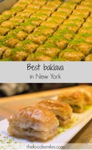 best baklava in New York