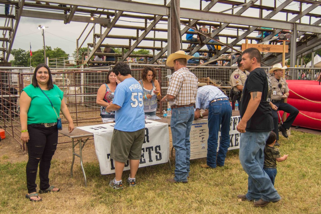 Texas rodeo in Georgetown
