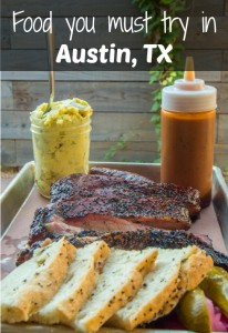 Must-try food in Austin Texas