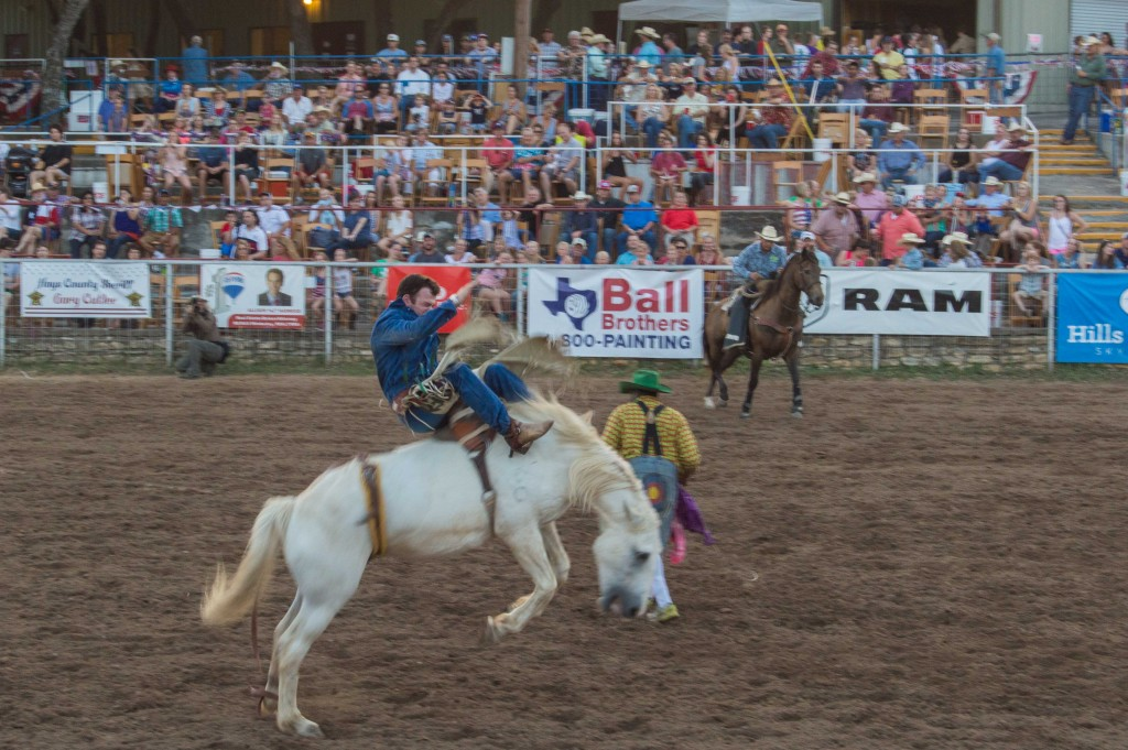 bronc riding texas