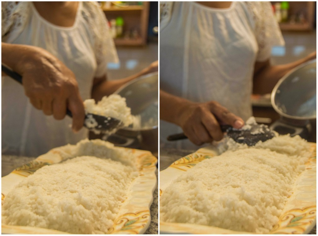 preparing kiribath