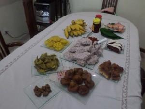 sri lankan new year table