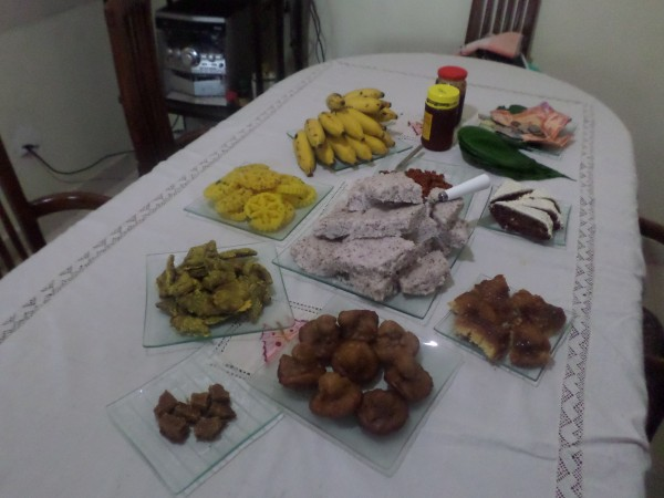 sri lankan new year table