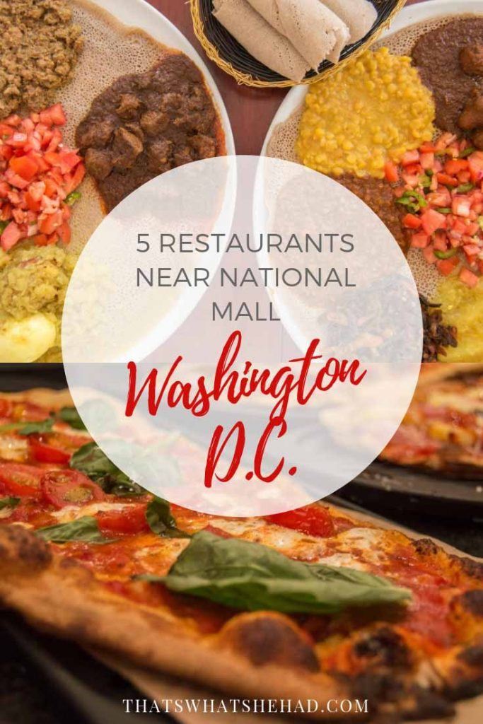 5 restaurants near National Mall that you should try on your visit to Washington D.C. #WashingtonDC #DC #NationalMall
