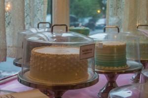 cakes at Magnolia bakery NYC