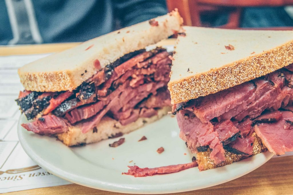 iconic NYC foods