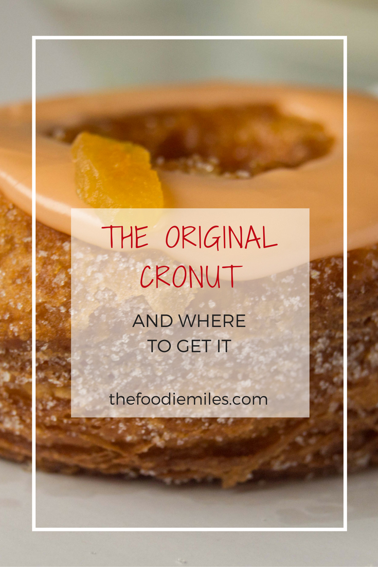 how to get a cronut