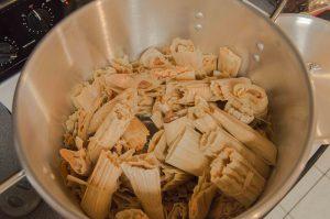 steaming-tamales