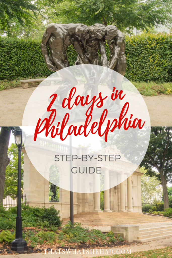 What to do in 2 days in Philadelphia: a step-by-step guide to the best things to do and delicious foods to eat! #Phialdelphia #PhiladelhiaGuide #Philly