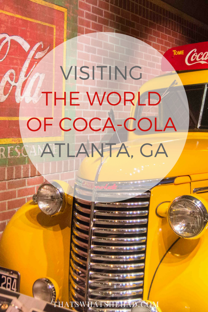 Take a look inside the Coca-Cola museum in Atlanta, GA! #cocacola #cocacolamuseum #worldofcocacola #Atlanta #atlantageorgia