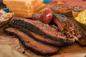 brisket and ribs