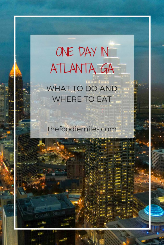 one day in Atlanta