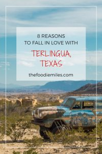 8 reasons to fall in love with Terlingua Texas