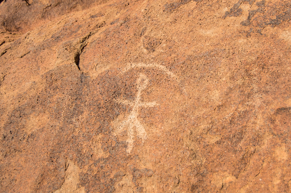 Indian petroglyphs Terlingua
