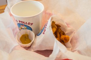 Los pollos Hermanos curly fries
