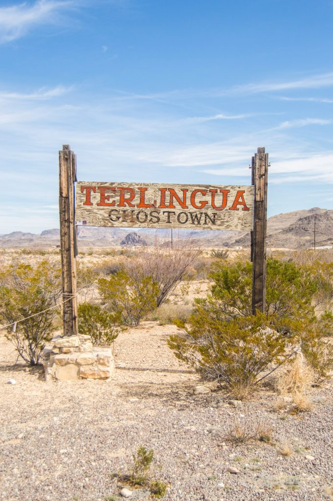 Terlingua ghost town how to find