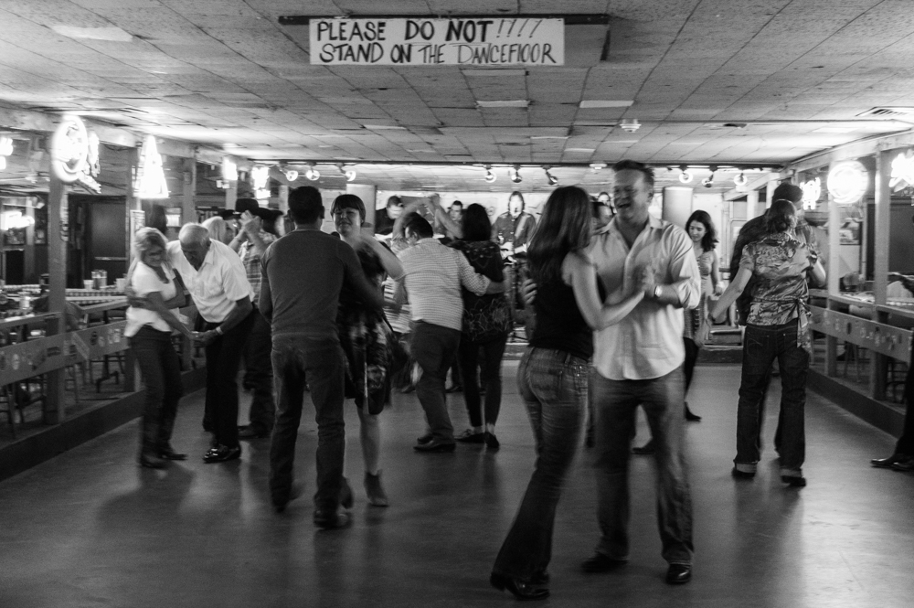broken spoke dance hall