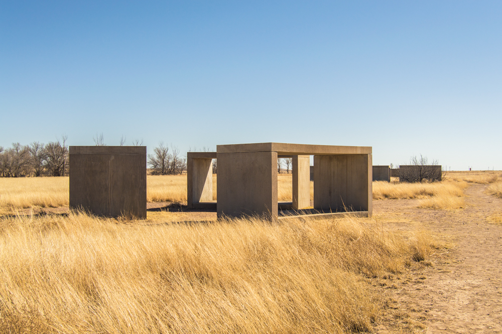 15 untitled works in concrete Judd