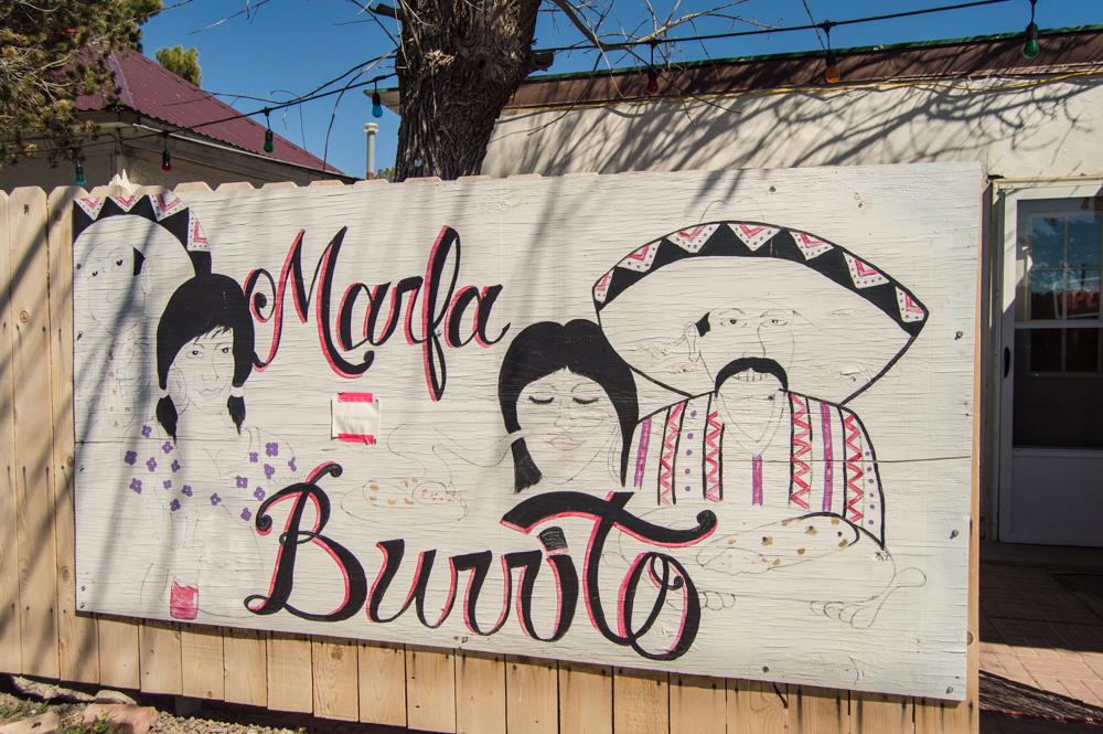 marfa burrito texas