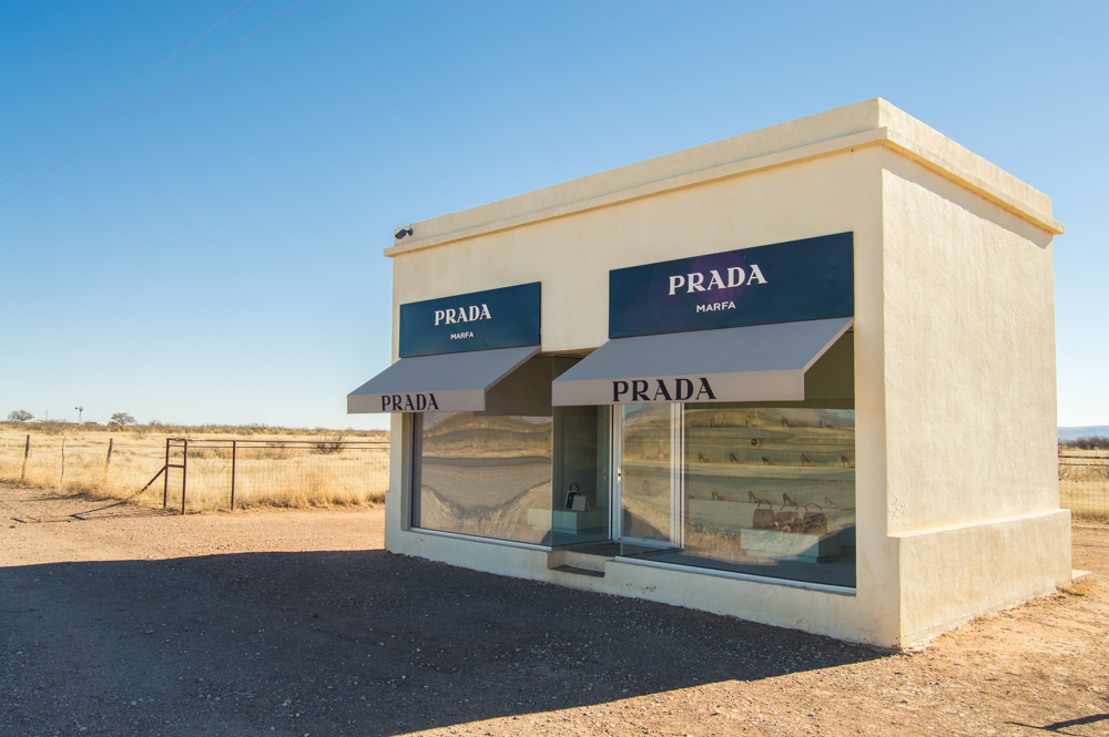prada in dessert texas
