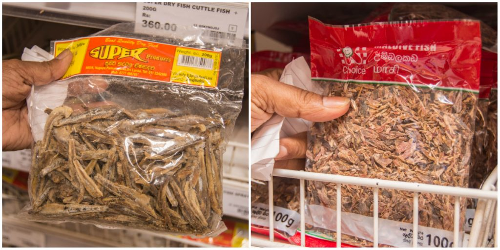 dried fish and maldive fish