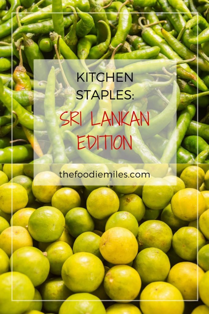 kitchen staples sri lanka