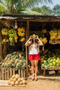 sri lanka fruit stall