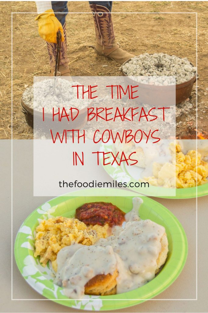 the time i had breakfast with texan cowboys