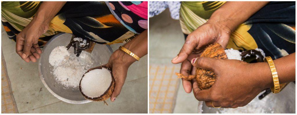 scraping coconut sri lanka