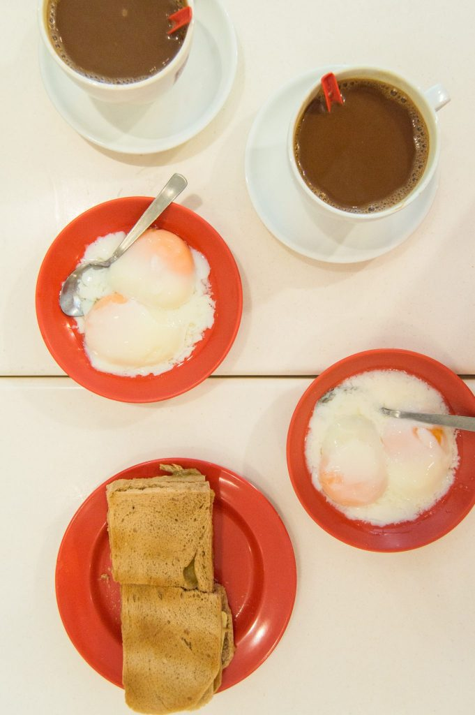 kaya toast singapore breakfast