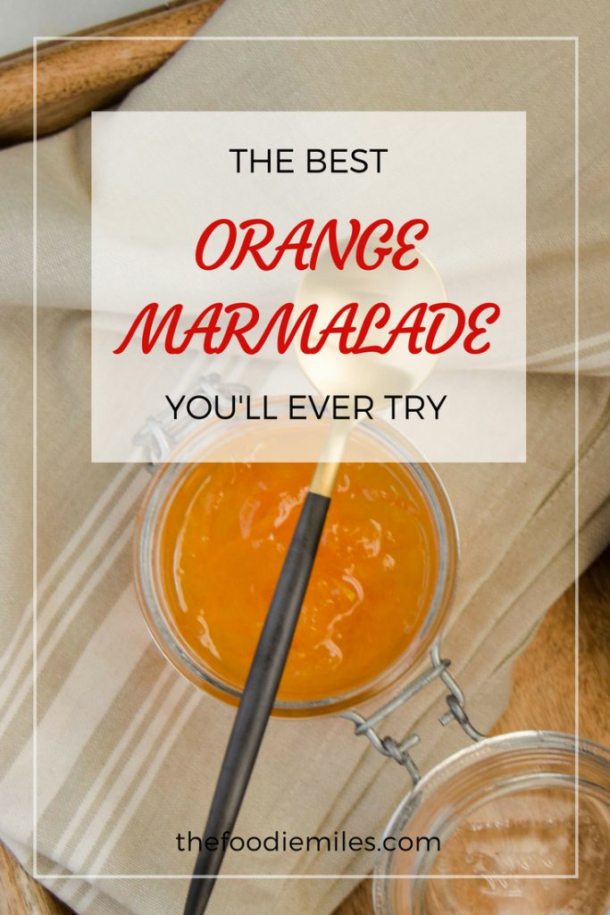 FULL PROOF ORANGE MARMALADE