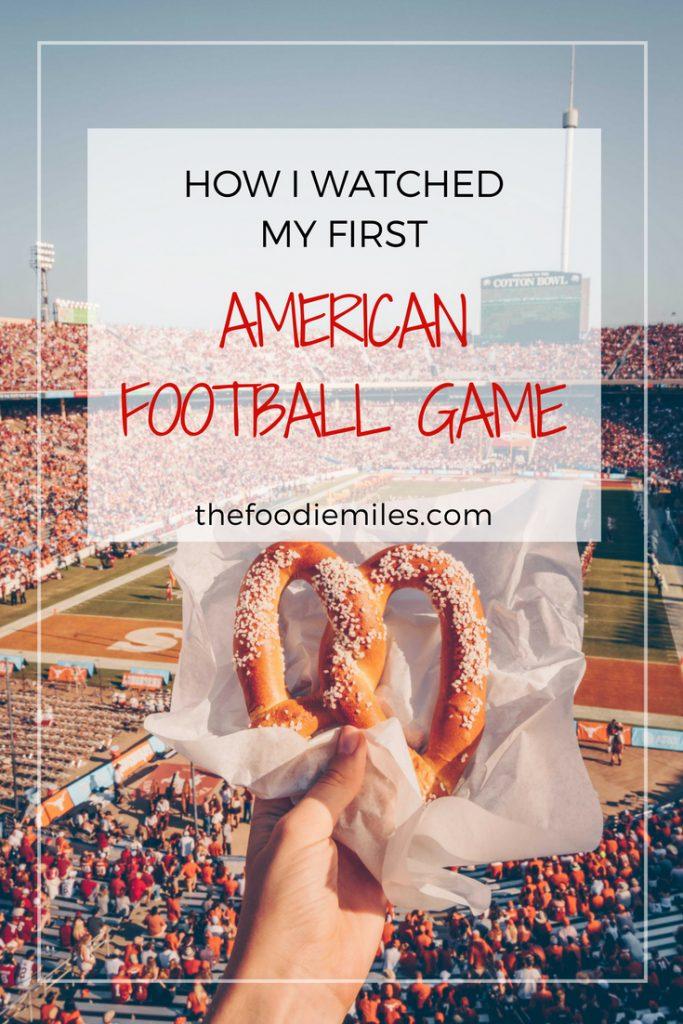 AMERICAN FOOTBALL GAME