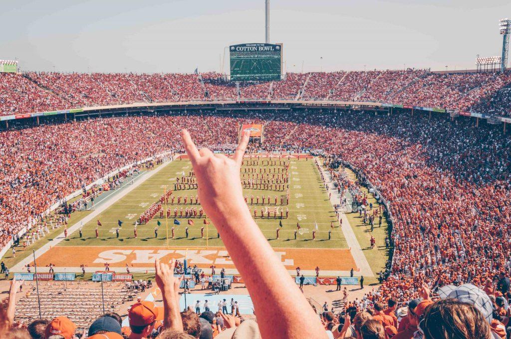 texas longhorn hand sign