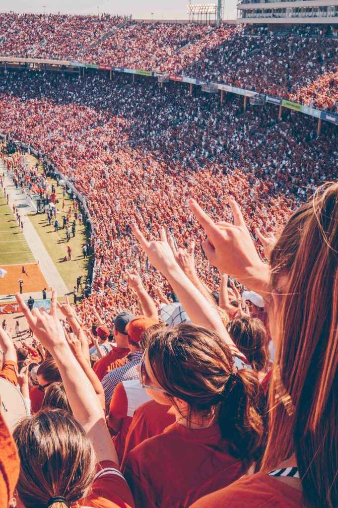 texas longhorns football game