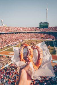 football game food
