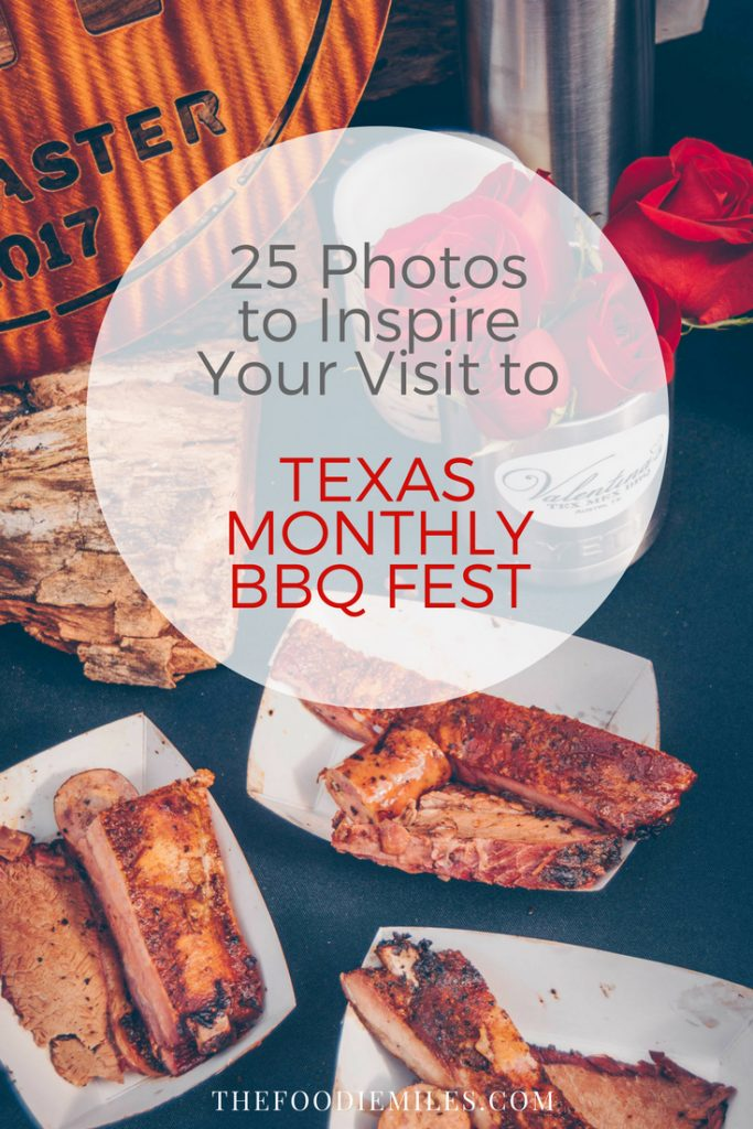 Texas Monthly Barbecue festival 2017