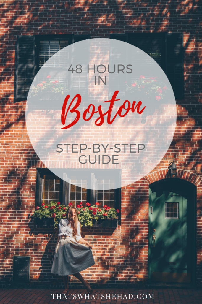 How to spend a weekend in Boston: a step-by-step guide with things to do, places to eat and great hotels to stay. #Boston #Bostonmass #BostonMA