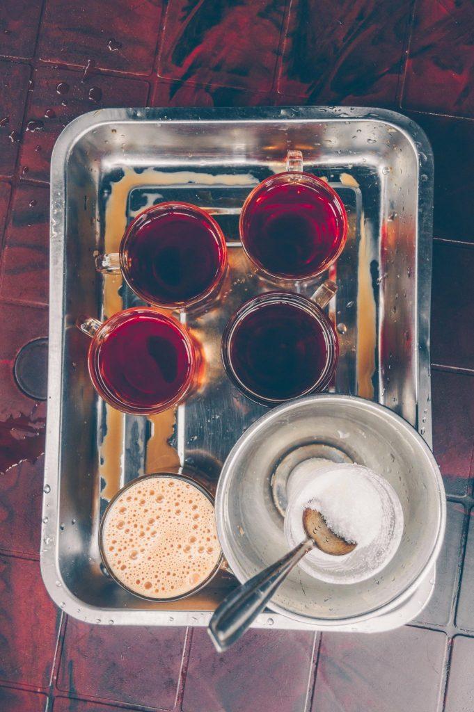 tea drinking in Russia