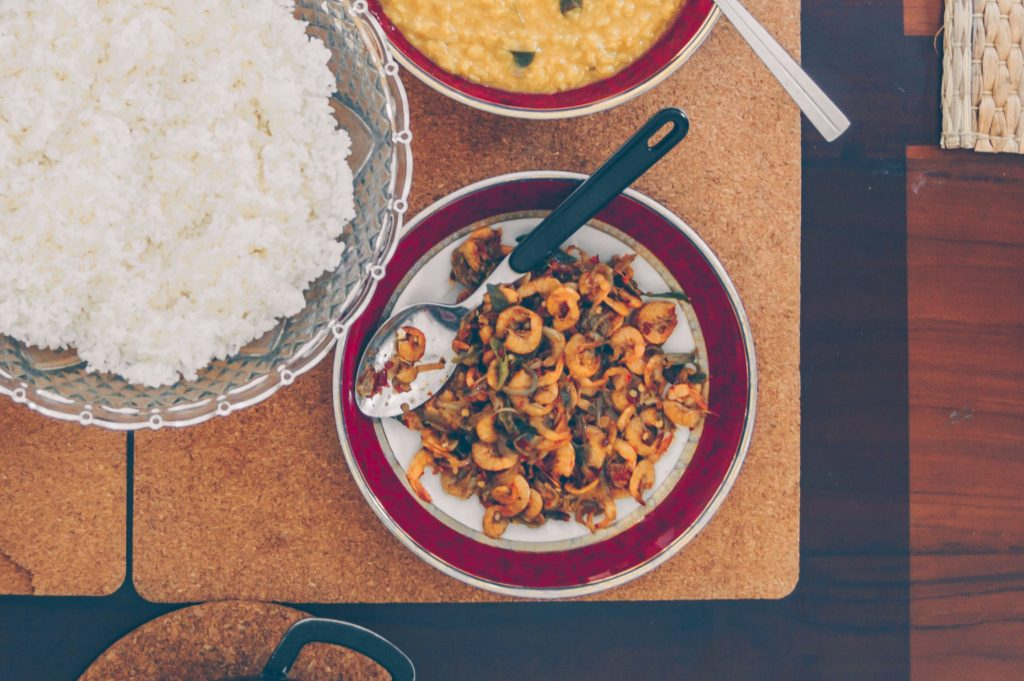 sri lankan shrimp curry