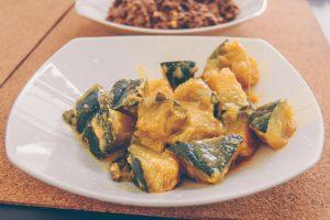 wattaka curry - pumpkin
