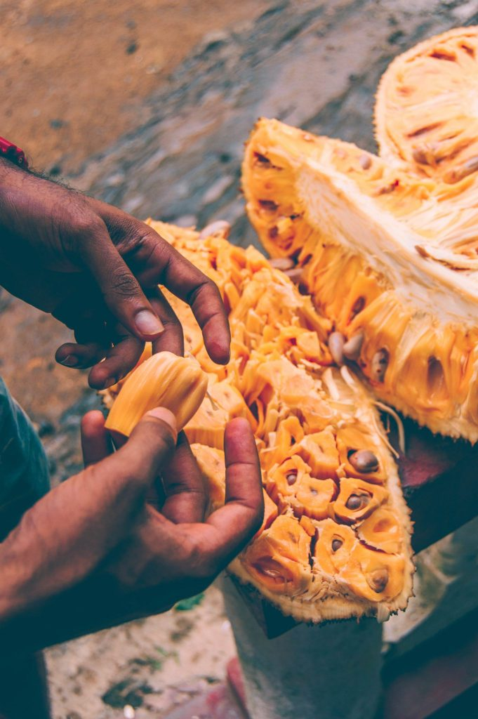 how to eat jackfruit