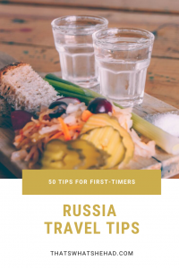 50 tips for traveling in Russia! Everything you need to know before your first visit written by a local! #Russia #Moscow #SaintPetersburg