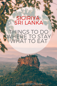sigiriya dambulla things to do