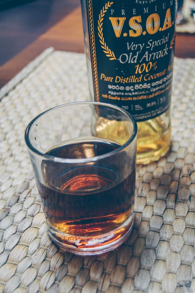 sri lankan arrack