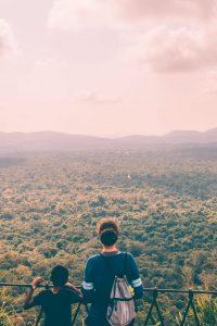 the view from sigiriya rock