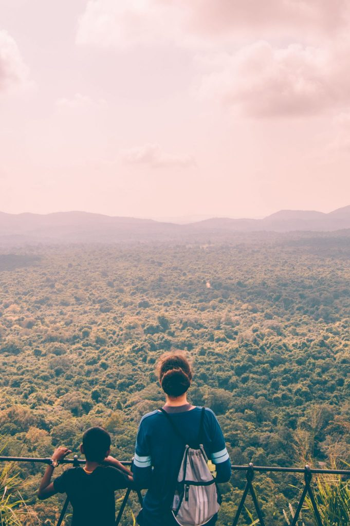 the view from sigiriya rock