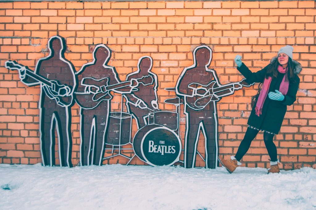 beatles monument ekaterinburg