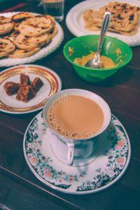 ceylon tea with milk